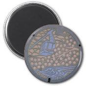 Armia Manhole Cover Magnets