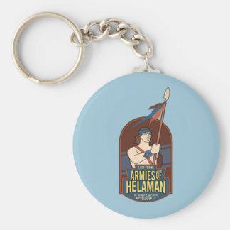 Armies of Helaman. Round key chain