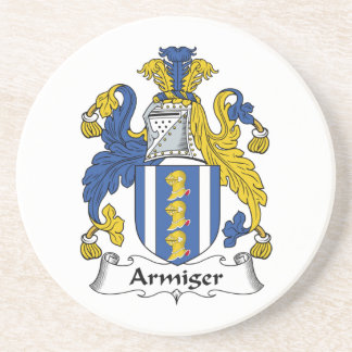 Armiger Family Crest Coasters