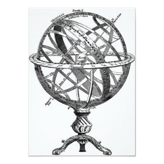 Armillary Celestial Sphere Card