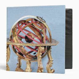 Armillary sphere 3 ring binder
