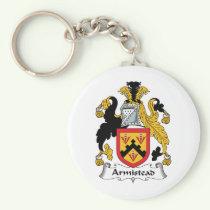Armistead Family Crest Keychain