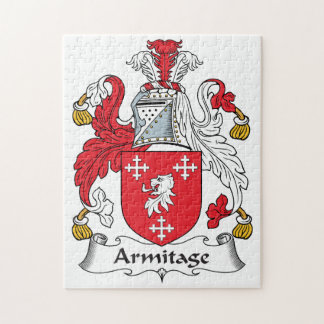 Armitage Family Crest Jigsaw Puzzles