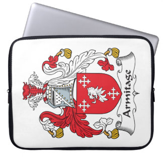 Armitage Family Crest Laptop Computer Sleeves