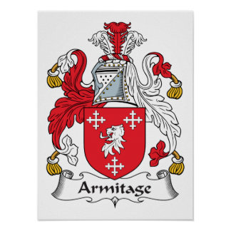 Armitage Family Crest Poster