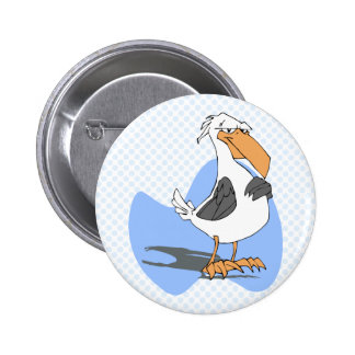 Armondo Albatross Pinback Button