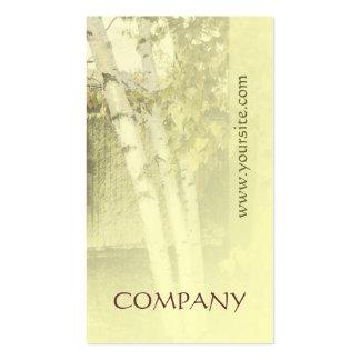 Armonía 1 de los abedules plantillas de tarjeta de negocio