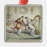 Armonía antes del matrimonio, 1805 ornamentos de reyes