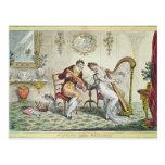 Armonía antes del matrimonio, 1805 tarjeta postal