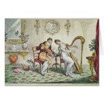 Armonía antes del matrimonio, 1805 tarjeton