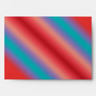 Armonía de neón del color azul y rojo