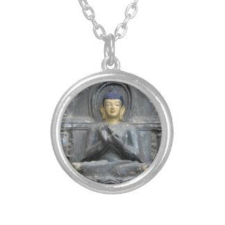 Armonía del amor de la paz con Buda Colgante Redondo