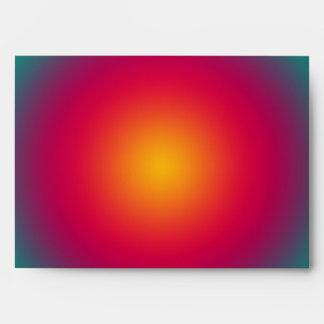 Armonía del color del sol naciente