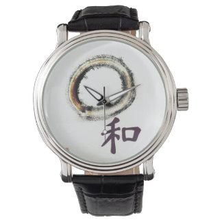 Armonía en la púrpura, Enso Relojes De Mano