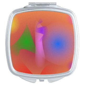 Armonía nebulosa de colores que ponen en contraste espejo para el bolso