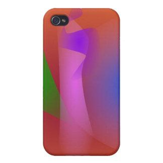 Armonía nebulosa de colores que ponen en contraste iPhone 4 cobertura