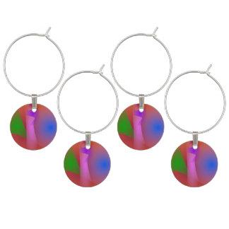 Armonía nebulosa de colores que ponen en contraste identificadores de copas