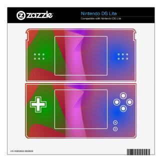 Armonía nebulosa de colores que ponen en contraste DS lite skins