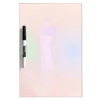 Armonía nebulosa de colores que ponen en contraste pizarras blancas de calidad