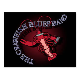 Armónica de la banda de azules de los cangrejos postal