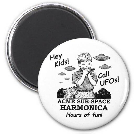 Armónica del subespacio de la cumbre (llamadas UFO Iman De Frigorífico