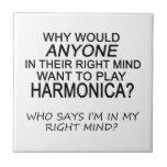 Armónica derecha de la mente azulejo