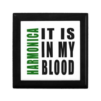 Armónica está en mi sangre caja de regalo