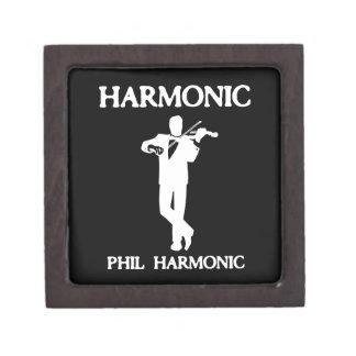 Armónico armónico de Phil Caja De Recuerdo De Calidad