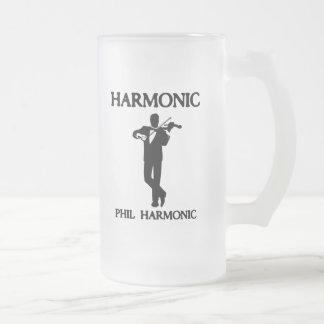 Armónico, armónico de Phil Taza De Cristal