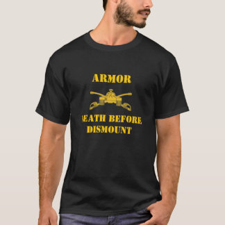 Armor Death Before Dismount T-Shirt