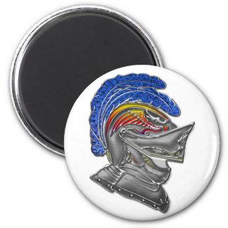 Armor Hat 2 Inch Round Magnet