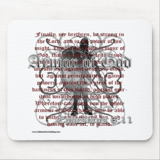Armor of God Christian Merchandise Mouse Pad
