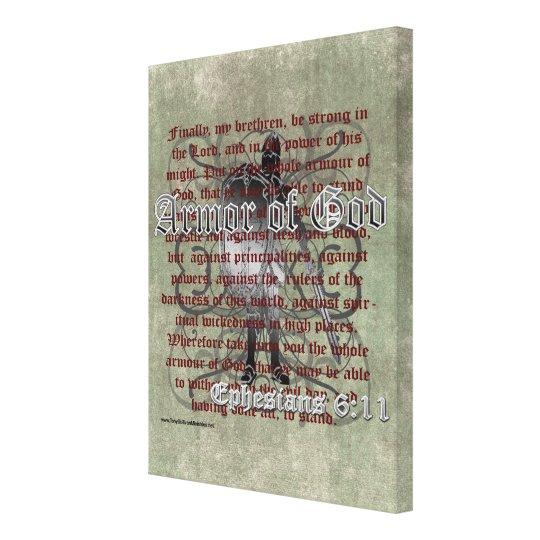 Armor Of God, Ephesians 6:10-18, Christian Soldier Canvas