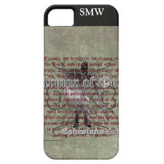 Armor of God, Ephesians 6:10-18, Christian Soldier iPhone SE/5/5s Case