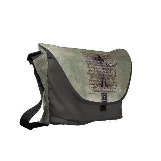 Armor of God, Ephesians 6:10-18, Christian Soldier Messenger Bag