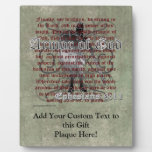 Armor of God, Ephesians 6:10-18, Christian Soldier Plaques