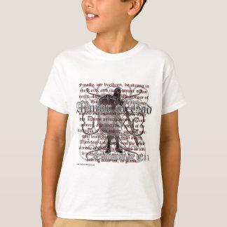 Armor of God, Ephesians 6:10-18, Christian Soldier T-Shirt