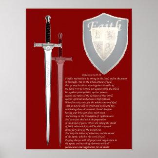 Armor of God large format poster