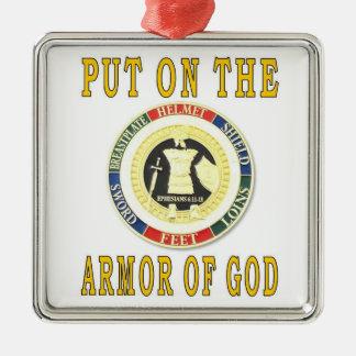 ARMOR OF GOD METAL ORNAMENT