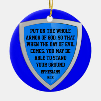 armor of God ornament