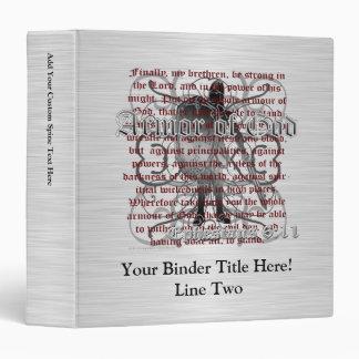 Armor of God Soldier Binder