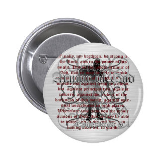 Armor of God Soldier Button