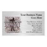Armor of God Soldier Double-Sided Standard Business Cards (Pack Of 100)