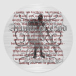 Armor of God Soldier Stickers