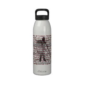 Armor of God Soldier Reusable Water Bottles