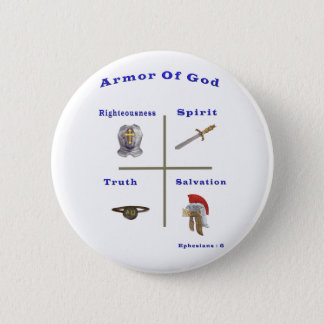 Armor of God t-shirts and more Pinback Button