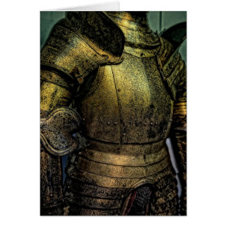 Armor of Medieval Knight Card