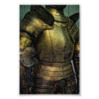 Armor of Medieval Knight Photo Print