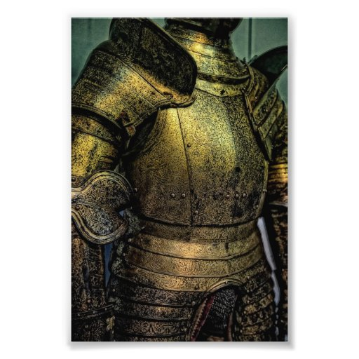 Armor of Medieval Knight Photo Art