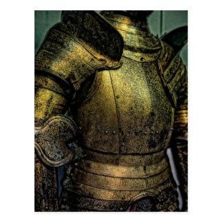 Armor of Medieval Knight Postcard